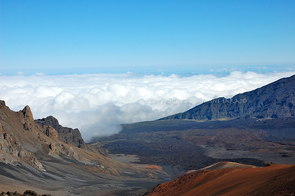 Clouds Roll in, Haleakala